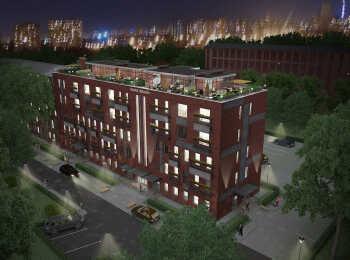 Оформление фасадов жилого комплекса Park Plaza